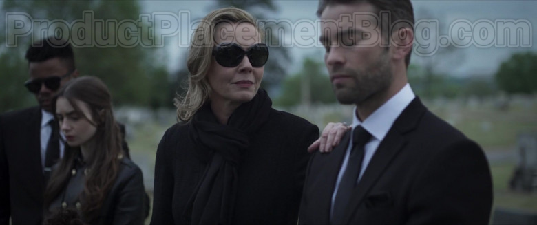 Connie Nielsen as Catherine Monroe Wearing Ray-Ban Jackie Ohh Ii RB4098 Black Sunglasses in Inheritance Movie (2)
