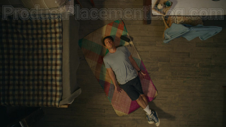 Converse Blue High Tops Shoes of Christian Kane in Almost Paradise TV Series (1)