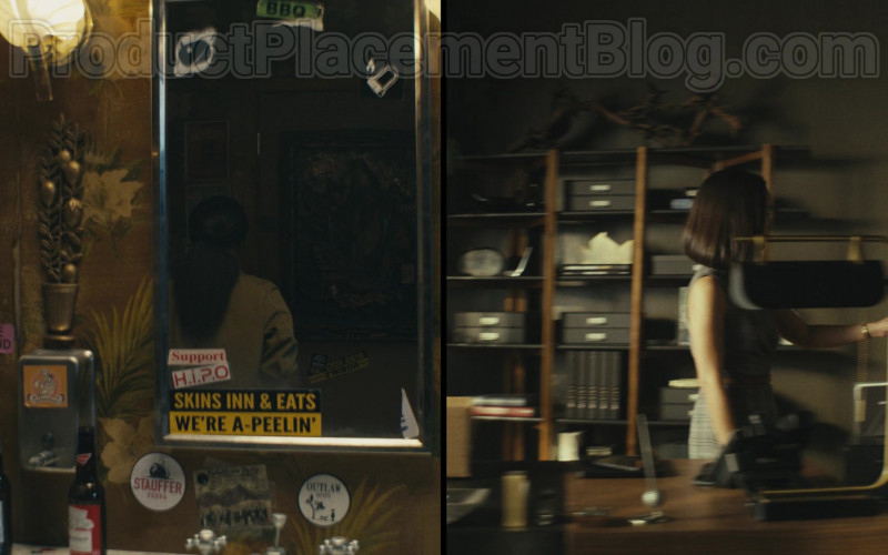 Coors and Budweiser Beer Bottles in Homecoming S02E05