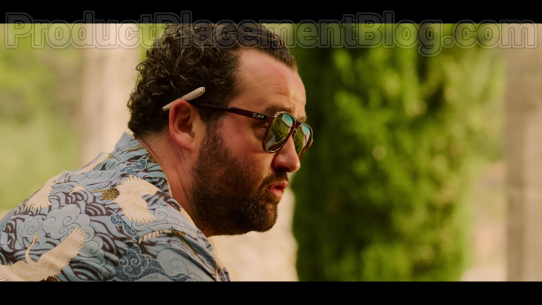 Daniel Mays as Marcus Wears Quay Men's Sunglasses in White Lines TV Show (2)