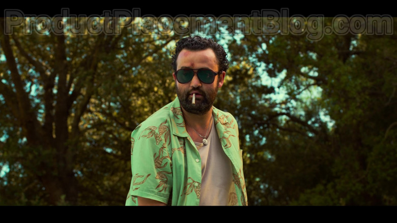 Daniel Mays as Marcus Wears Quay Men's Sunglasses in White Lines TV Show (4)