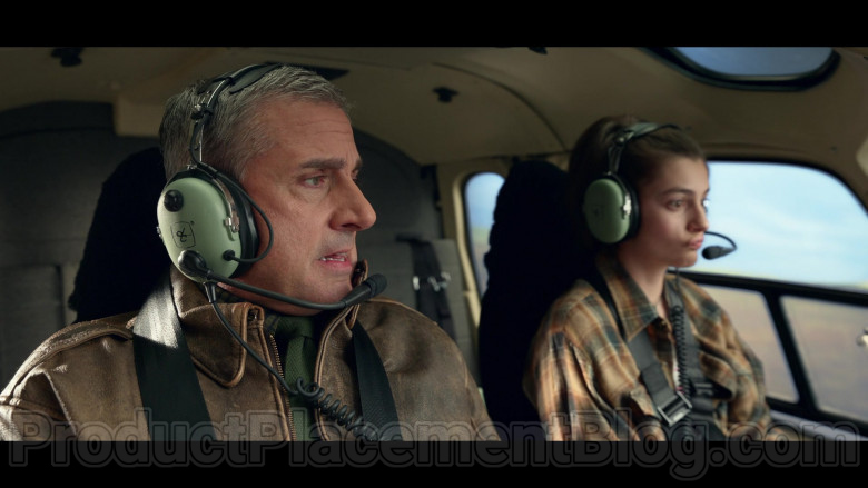 David Clark Headset Used by Steve Carell as General Mark R. Naird in Space Force S01E08 Netflix TV Show