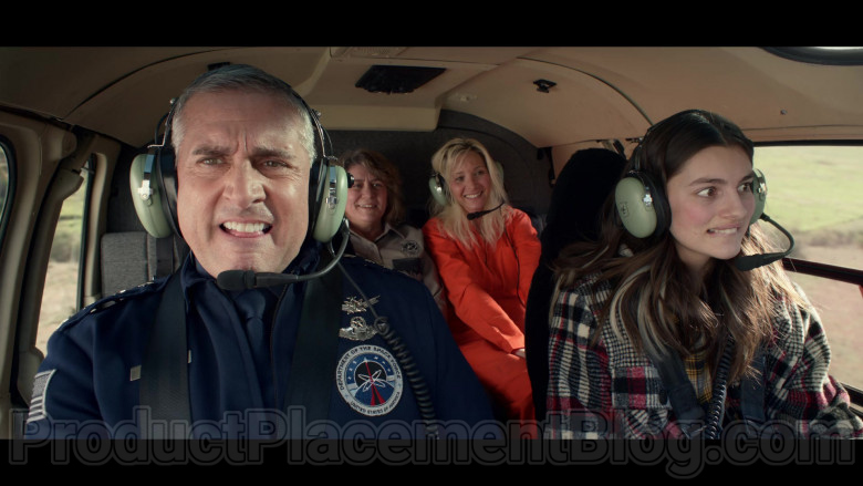 David Clark Headsets of Steve Carell & Diana Silvers in Space Force Netflix TV Show (4)