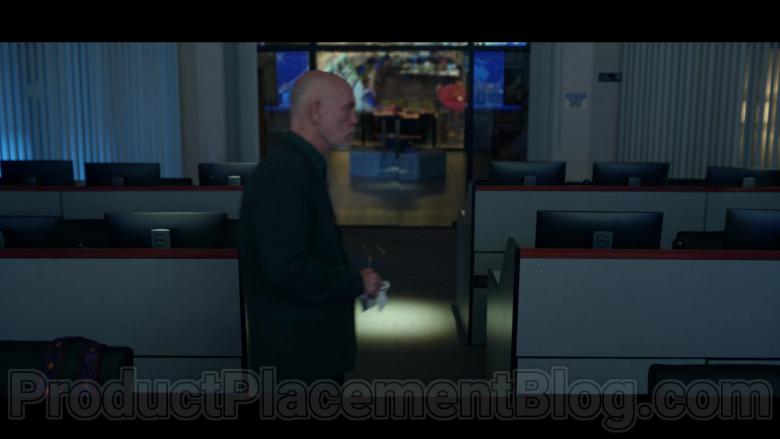 Dell Computer Monitors in Space Force S01E04 Lunar Habitat (2020)