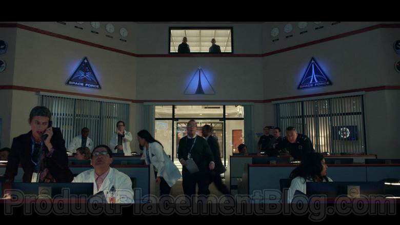 Dell Computer Monitors in Space Force S01E06 The Spy (1)