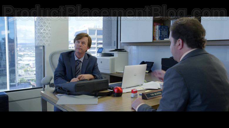 Dell Laptop of David Spade as Tim Morris in The Wrong Missy [Netflix Movie, 2020] (1)