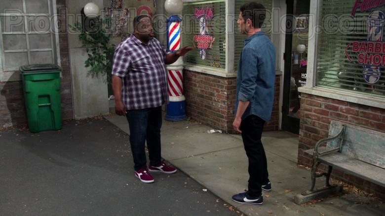 Diadora Shoes of Cedric the Entertainer as Calvin Butler in The Neighborhood TV Series (2)