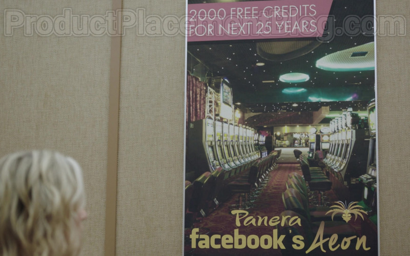 FaceBook Poster in Upload S01E08 Shopping Other Digital After-Lives (2020)