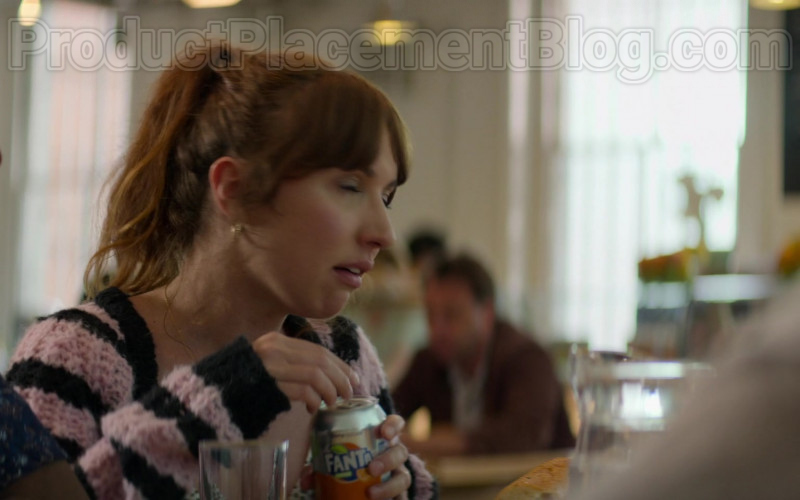 Fanta Soda Enjoyed by Esther Smith as Nikki in Trying S01E06 Show Me the Love (2020)
