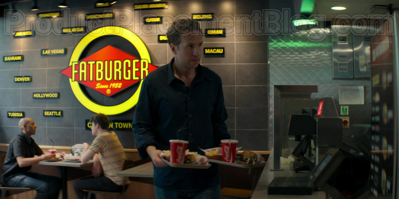 Fatburger Fast Casual Restaurant and Coca-Cola in Trying TV Show (2)