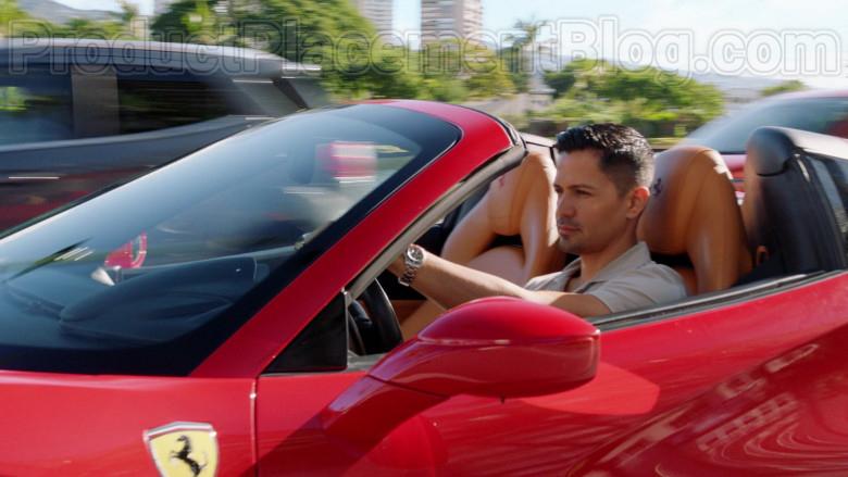 Ferrari Sports Car Driven by Jay Hernandez in Magnum P.I. S02E18 (1)