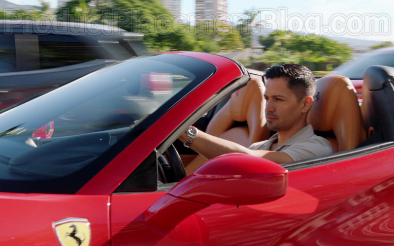 Ferrari Sports Car Driven by Jay Hernandez in Magnum P.I. S02E18 (1)