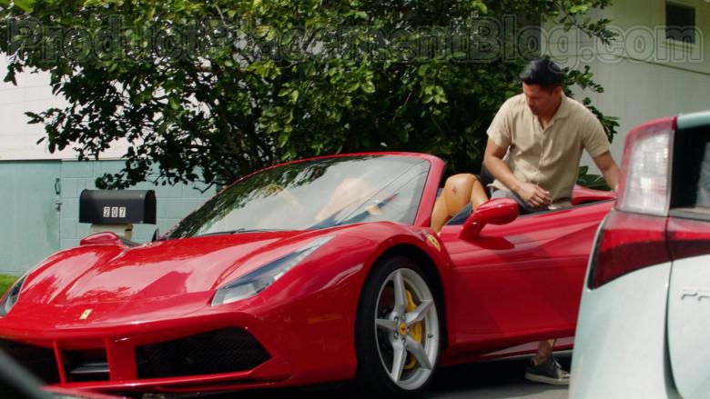 Ferrari Sports Car Driven by Jay Hernandez in Magnum P.I. S02E18 (3)