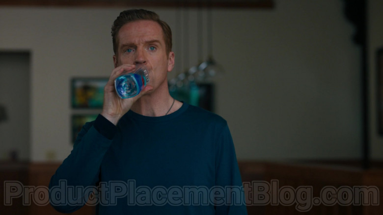 Fiji Water Enjoyed by Damian Lewis as Robert 'Bobby' Axelrod in Billions S05E02 (2)