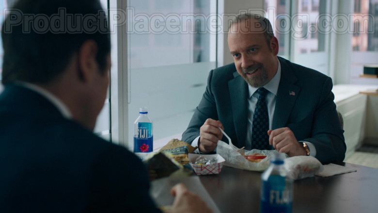 Fiji Water Enjoyed by Paul Giamatti as Charles 'Chuck' Rhoades, Jr. in Billions TV Show (1)