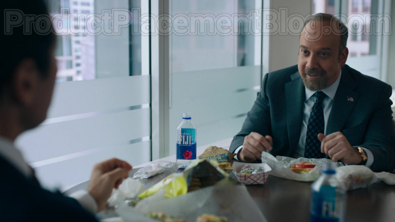 Fiji Water Enjoyed by Paul Giamatti as Charles 'Chuck' Rhoades, Jr. in Billions TV Show (2)
