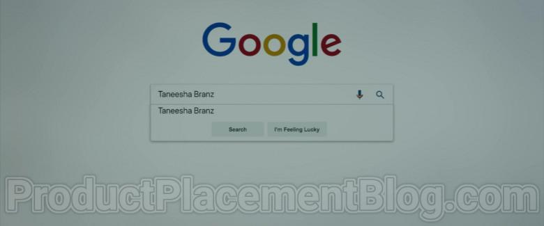 Google Website Seen in Body Cam (2020) Movie