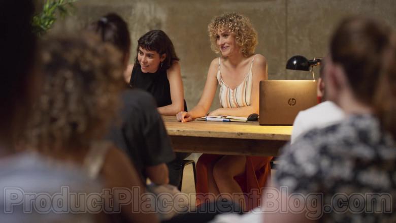 HP Laptop of Teresa Riott as Nerea in Valeria S01E06 (1)