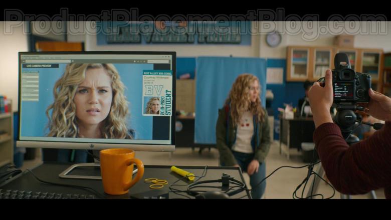 HP Monitor and Canon Camera in Stargirl S01E01 Pilot (2020)