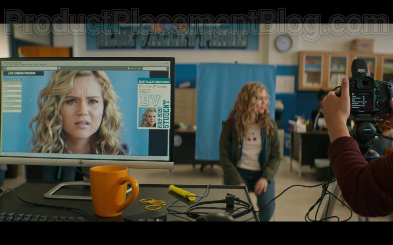 HP Monitor and Canon Camera in Stargirl S01E01 Pilot (2020)