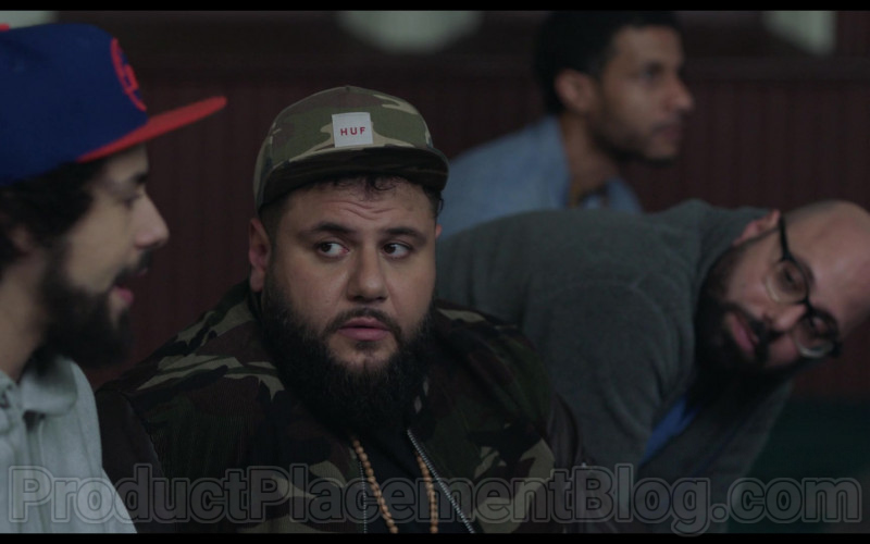 HUF Snapback Hat of Mohammed Amer in Ramy S02E02 Can You Hear Me Now (2020)