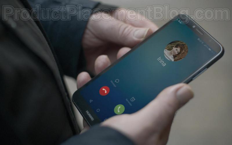 Huawei Smartphone of Kim Bodnia as Konstantin in Killing Eve S03E04 Still Got It (2020)