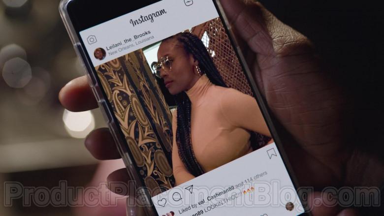 Instagram App in The Lovebirds Movie (1)