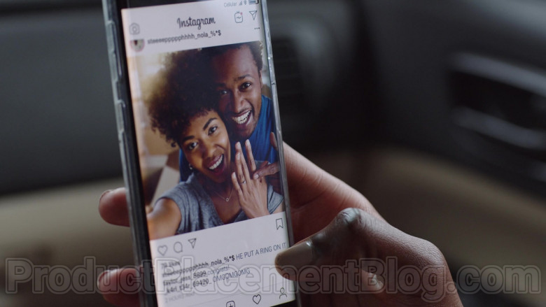 Instagram App in The Lovebirds Movie (2)