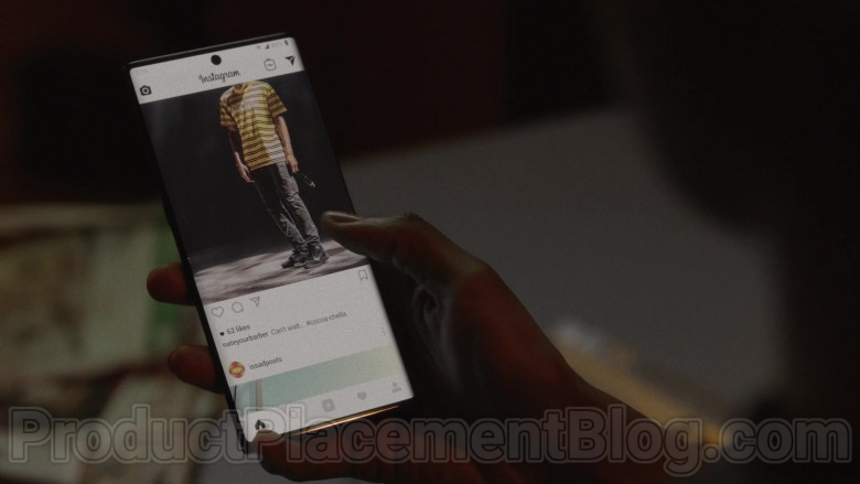 Instagram in Insecure S04E05 Lowkey Movin' On (2020)