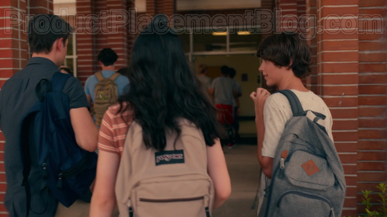 JanSport Backpack in Sweet Magnolias S01E01 Pour It Out (2020)