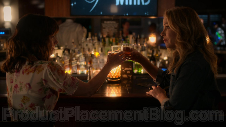 Johnnie Walker Blue Label Whisky Enjoyed by Christina Applegate & Linda Cardellini in Dead to Me