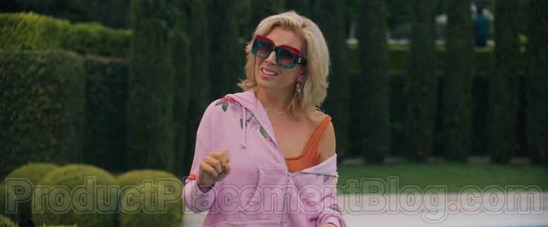 June Diane Raphae Wearing Gucci 0083 Square Frame Sunglasses Outfit in The High Note Movie