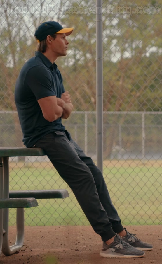 Justin Bruening as Cal Maddox Wearing Nike Renew Arena Sneakers in Sweet Magnolias S01E10 TV Show by Netflix