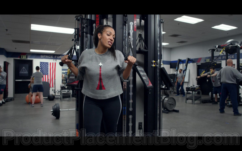 Keiser Fitness Equipment in Space Force S01E03 Mark And Mallory Go To Washington (2020)