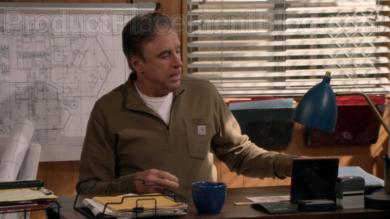 Kevin Nealon Wearing Carhartt Tilden Half Zip Shirt in Man with a Plan S04E10 TV Show (1)