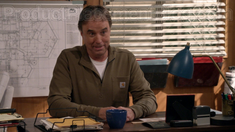 Kevin Nealon Wearing Carhartt Tilden Half Zip Shirt in Man with a Plan S04E10 TV Show (2)