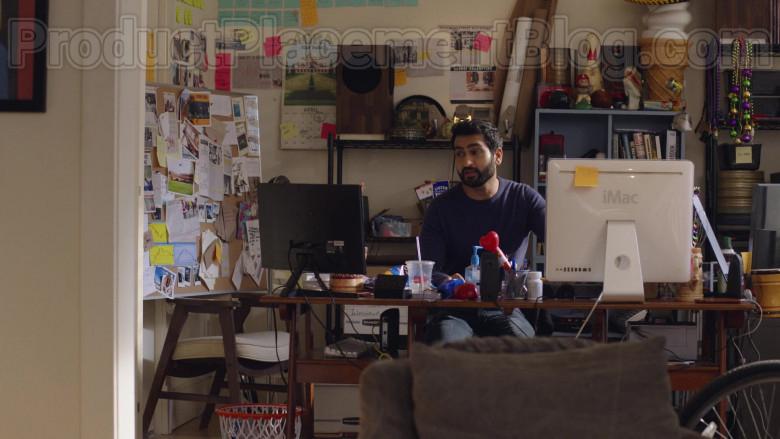 Kumail Nanjiani Using Apple iMac Computer The Lovebirds (2021) Netflix Movie