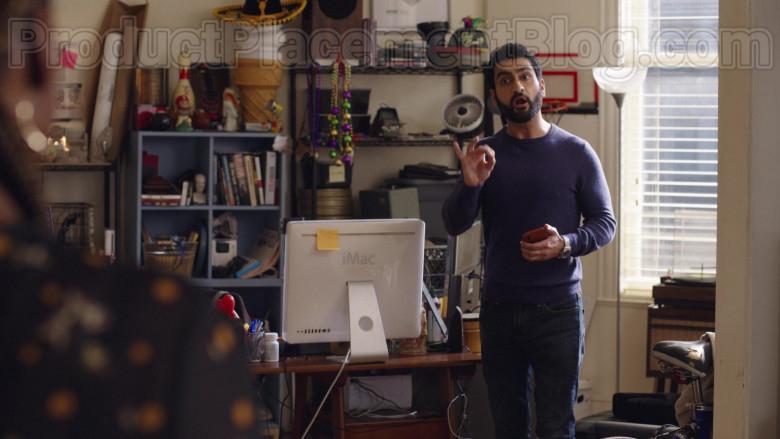 Kumail Nanjiani Using Apple iMac Computer The Lovebirds (2022) Netflix Movie