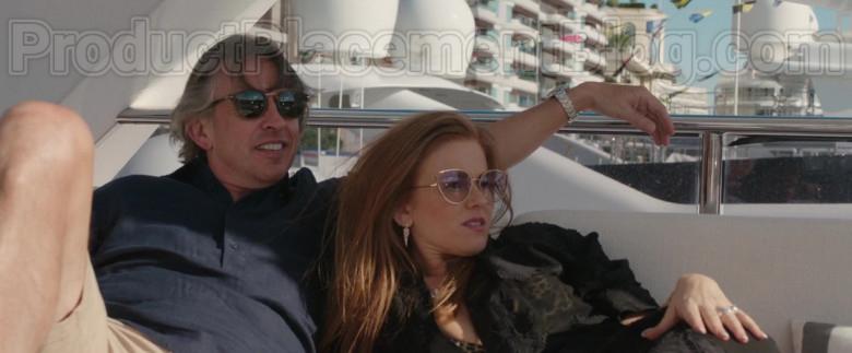 Linda Farrow Fontaine Cat Eye Sunglasses of Isla Fisher in Greed Movie (1)
