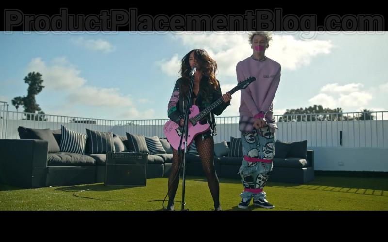 "Machine Gun Kelly Wearing Vans Shoes in ""Bloody Valentine"" (2020) Music Video"