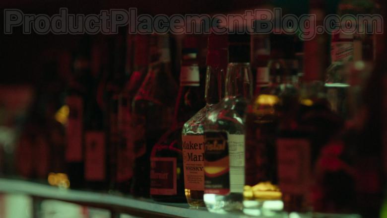 Maker's Mark Handmade Kentucky Straight Bourbon Whisky Bottle in Hightown S01E02 TV Show