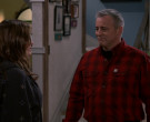 Carhartt Checkered Red Shirt of Matt LeBlanc in Man with a P...