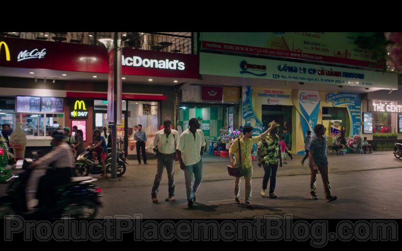 McDonald's Fast Food Restaurant Seen in Da 5 Bloods (2020) Netflix Movie