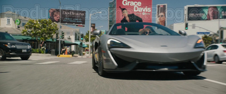 McLaren 570S Grey Sports Car in The High Note Movie [2020] (5)