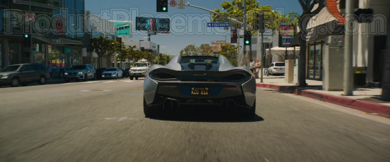 McLaren 570S Grey Sports Car in The High Note Movie [2020] (9)