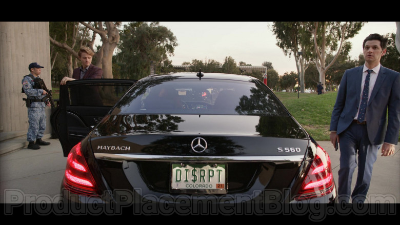 Mercedes-Benz S-Class Maybach S560 Black Car in Space Force S01E07 TV Show (5)