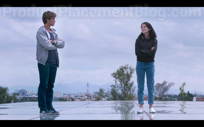 Michael Ronda Wearing Adidas Shoes in Control Z S01E01 Mexican TV Show by Netflix
