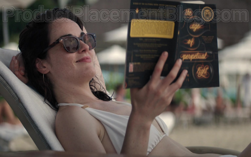 Michelle Dockery Wearing Ray-Ban Sunglasses in Defending Jacob S01E08 TV Show (1)