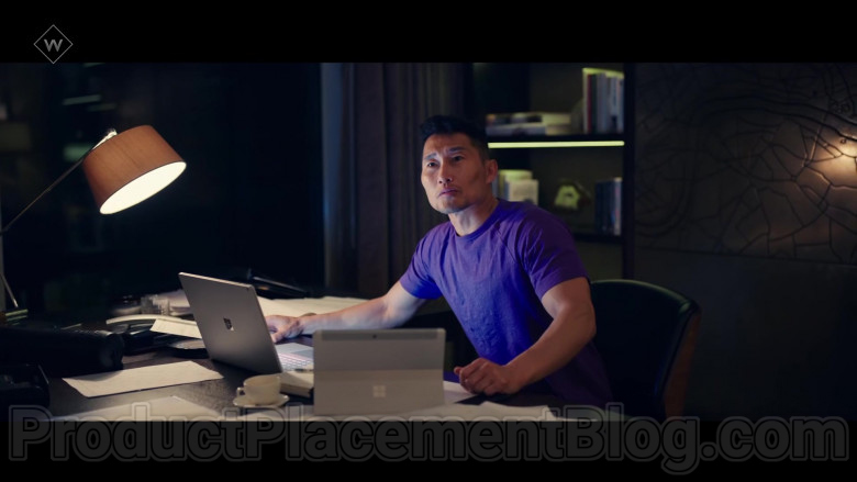 Microsoft Surface Laptop & Tablet in Flack TV Show (1)