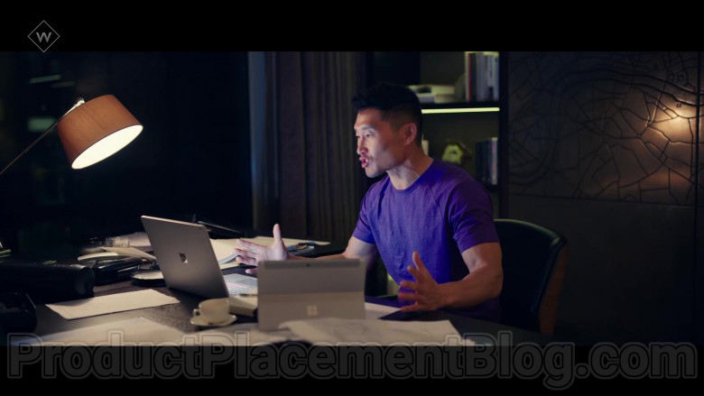Microsoft Surface Laptop & Tablet in Flack TV Show (2)